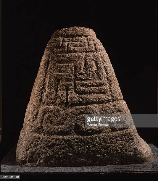 The Kermaria Stone found at Kermaria en Pont LAbbe Finistere France Celtic 4th century BC