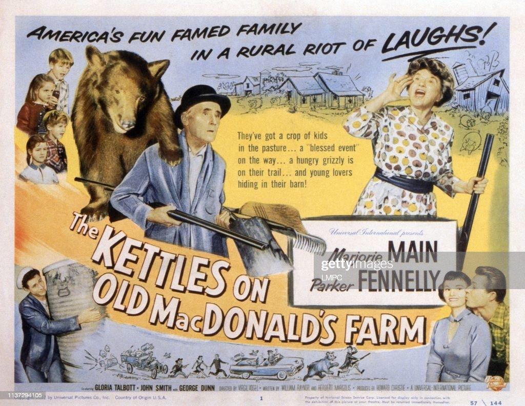 The Kettles On Old Macdonald's Farm : News Photo