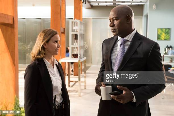 REVERIE The Key Episode 109 Pictured Molly Hagan as Tirzah Hagan Dennis Haysbert as Charlie Ventana