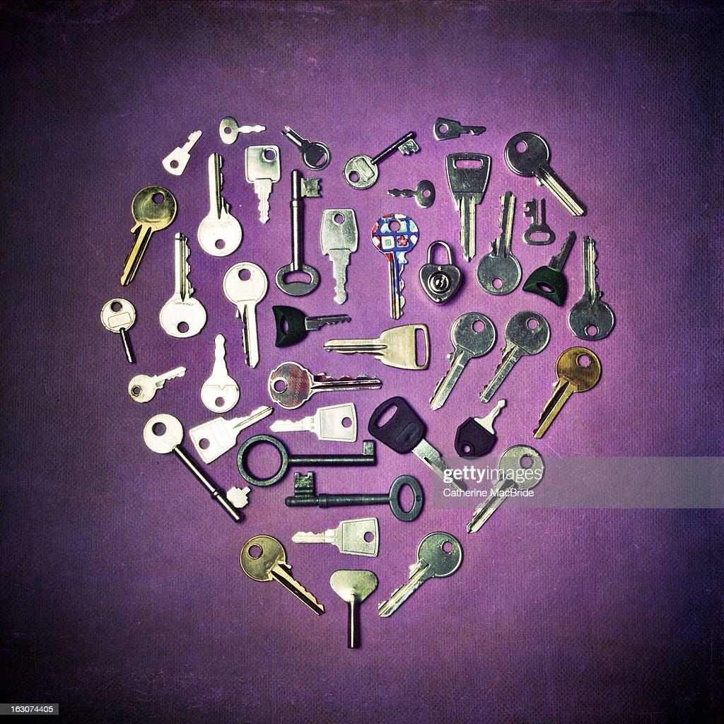 The key to my heart... : Stock Photo