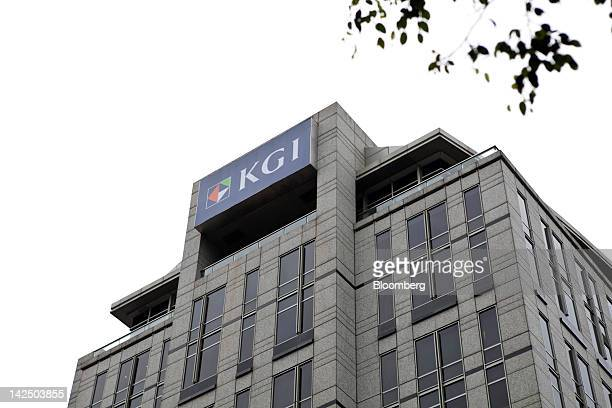 The KGI Securities Co. Headquarters stands in Taipei, Taiwan, on Friday, April 6, 2012. China Development Financial Holding Co., Taiwan's largest...