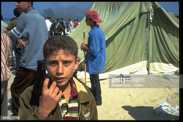 The Khan Younis refugee camp
