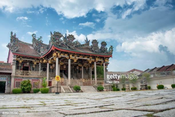 The Khoo Kongsi temple in Penang, Malaysia