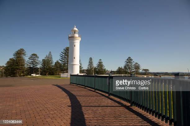 May 11: The Kiama Light House on May 11, 2020 in Kiama New South Wales, Australia.