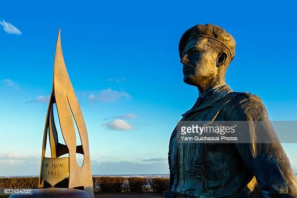 The Kieffer's Commandos Monument, Ouistreham,Calvados, Basse Normandie, France