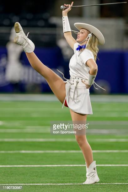 The Kilgore College Rangerettes perform prior to the Cotton Bowl Classic between the Memphis Tigers and Penn State Nittany Lions on December 28 2019...