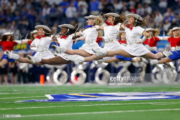 The Kilgore College Rangerettes perform prior to the Cotton Bowl Classic between the Memphis Tigers and Penn State Nittany Lions on December 28, 2019...