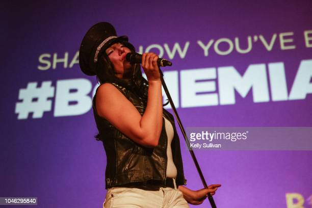 The Killer Queens the world's only allfemale Queen tribute band perform at a special screening of 'Bohemian Rhapsody' at the Castro Theatre on...
