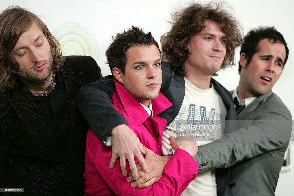The Killers during Next Generation Xbox Revealed - Arrivals in Los Angeles, California, United States.