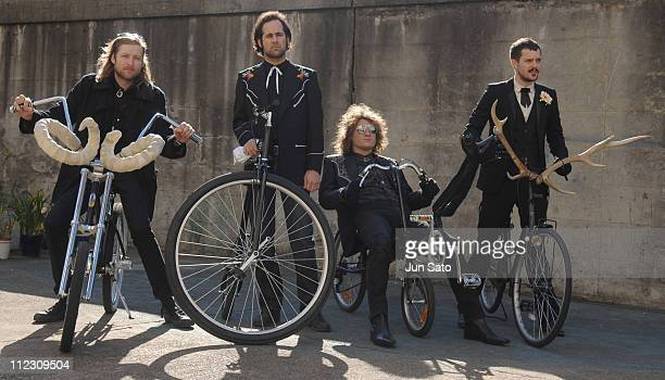 The Killers during The Killers 'Read My Mind' Video Shoot January 10 2007 in Tokyo Japan