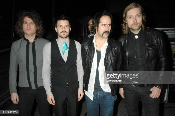 The Killers during VH1 Big in '06 Backstage and Audience at Sony Studios in Culver City California United States