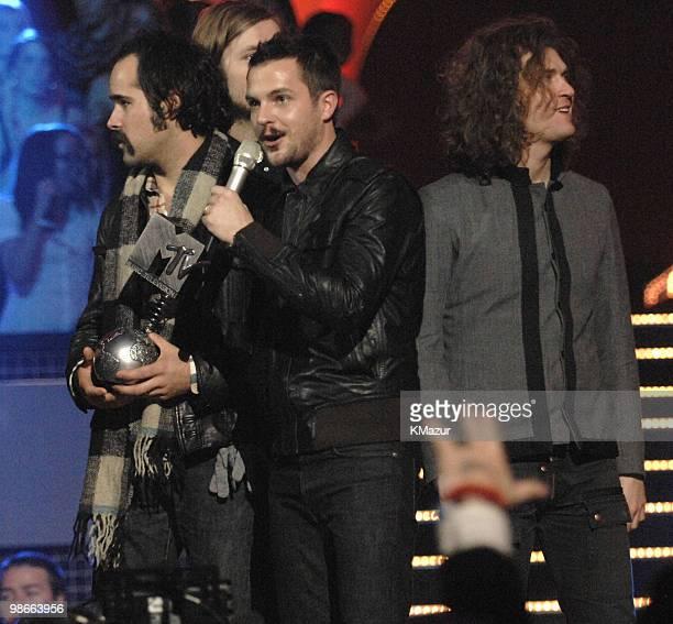 The Killers winners of Best Rock