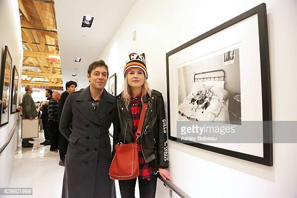 The Kills Jamie Hince and Alison Mosshart attend Artists With Animals at Ron Robinson on November 29 2016 in Santa Monica California