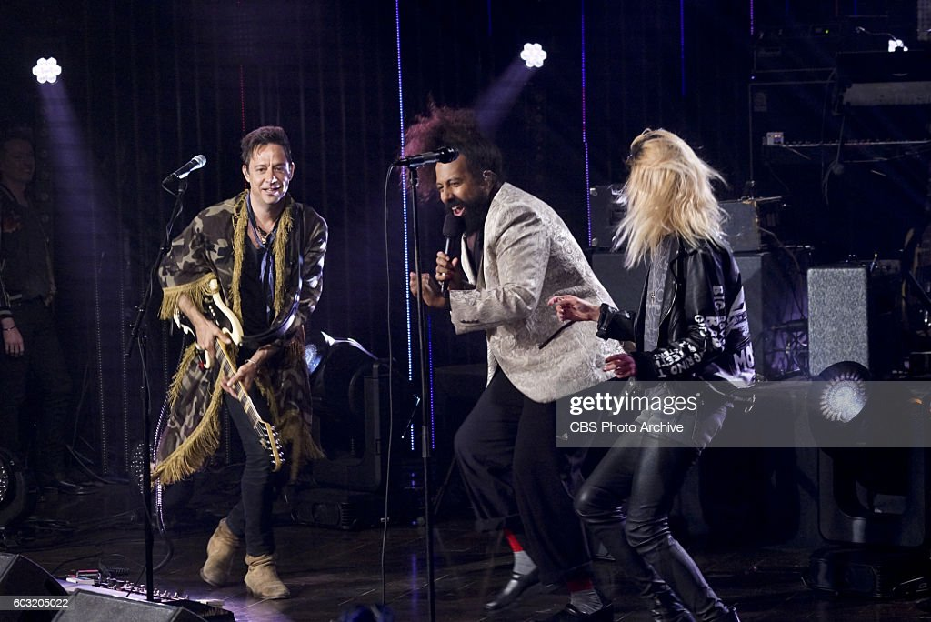 The Kills perform with Reggie Watts on 'The Late Late Show with James Corden,' Thursday, Sept. 1 (12:35 PM-1:37 AM ET/PT) On the CBS Television Network.