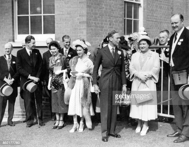 The King and Queen with other members of the Royal family saw the King's horse AVILA win the Coronation Stakes at Ascot named by Mr P Beatty and Mr J...