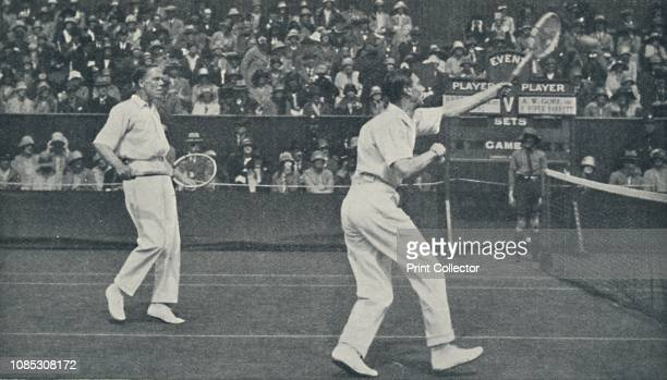 The King as LawnTennis Player' From The Crowning of The King and Queen [Evans Brothers Limited London 1937] Louis Greig and George IV play tennis...