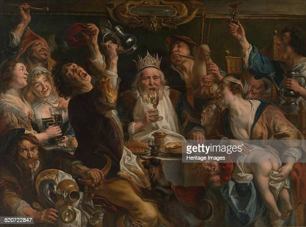 The King Drinks Found in the collection of Musées royaux des BeauxArts de Belgique Brussels