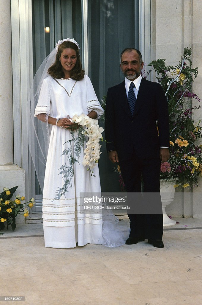 Image result for jordan's king hussein weds american lisa halaby