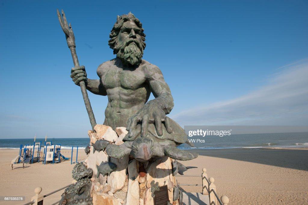 The King Neptune Statue Virginia Beach News Photo