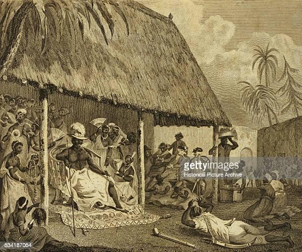 The King of Dahomey's Levee by Robert Norris