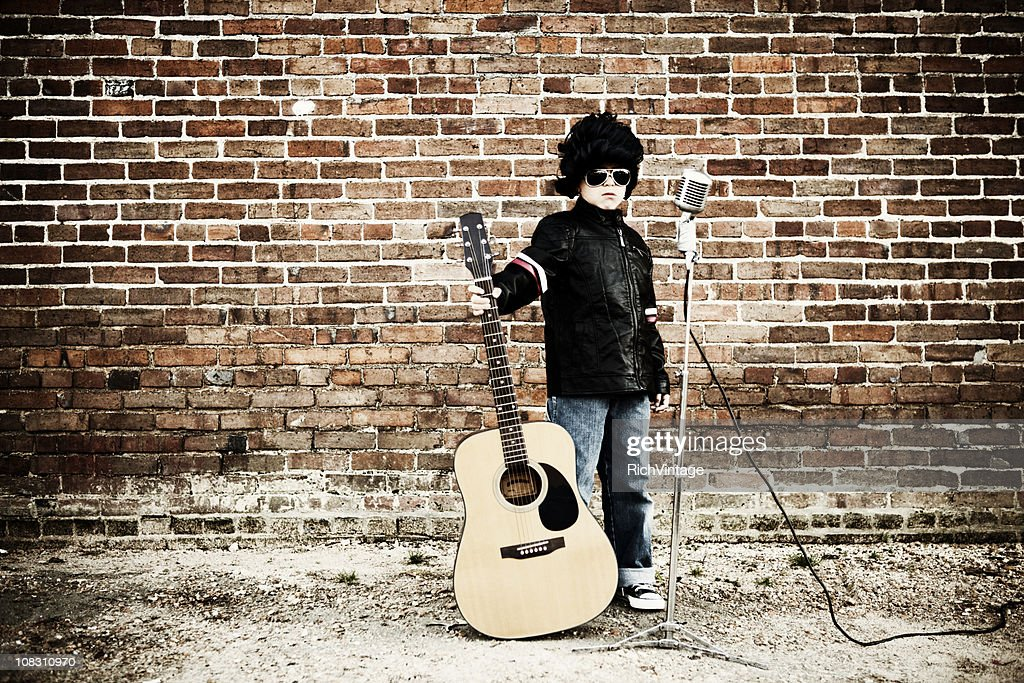 The King of Rock and Roll : Stock Photo