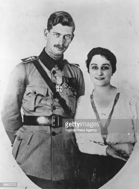 The King of Romania Carol II and his first wife Zizi Lambrino