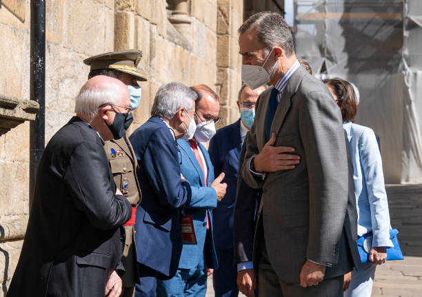 ESP: King Felipe Of Spain Inaugurates The Xacobeo International Congress