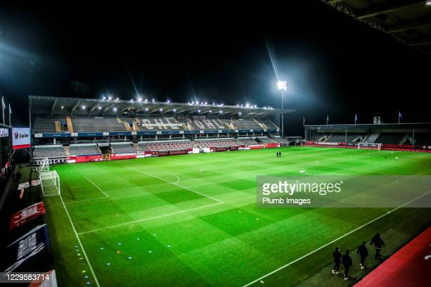 The King Power at Den Dreef Stadion ahead of the international friendly match between Belgium and Switzerland at the King Power at den dreef Stadion...
