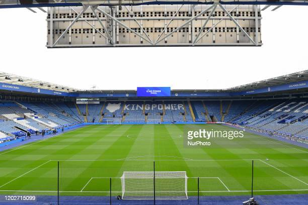 The King Power Stadium home to Leicester City during the Premier League match between Leicester City and Manchester City at the King Power Stadium...
