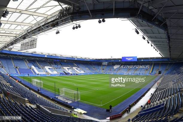 The King Power Stadium, home to Leicester City during the Premier League match between Leicester City and Manchester City at the King Power Stadium,...