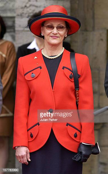 The King Queen Of Norway Attend A Welcome Ceremony At Rideau Hall In Ottowa With Governor General Adrienne Clarkson And His Excellency John Ralston...