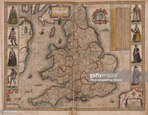 The Kingdom of England Abraham Goos From A Prospect of the most Famous Parts of the World Together With all the Provinces Counties and Shires...