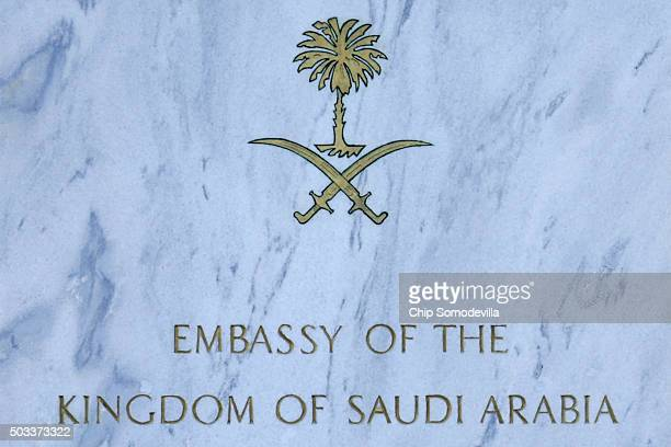The Kingdom of Saudi Arabia's embassy in the United States stands in the Foggy Bottom neighborhood near the Kennedy Center for the Performing Arts...