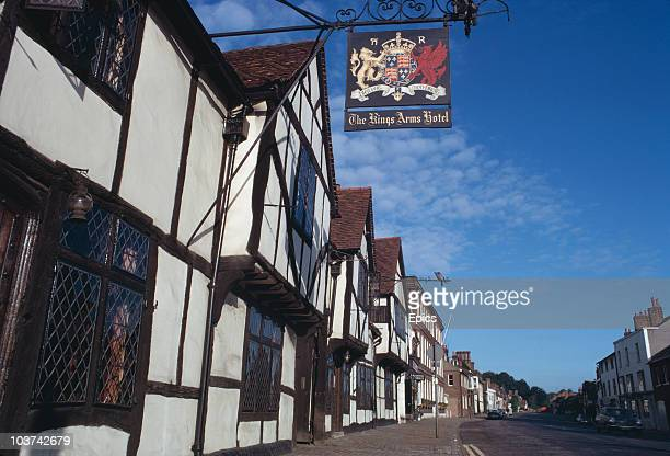The King's Arms Hotel in Amersham, Buckinghamshire, July 1970.
