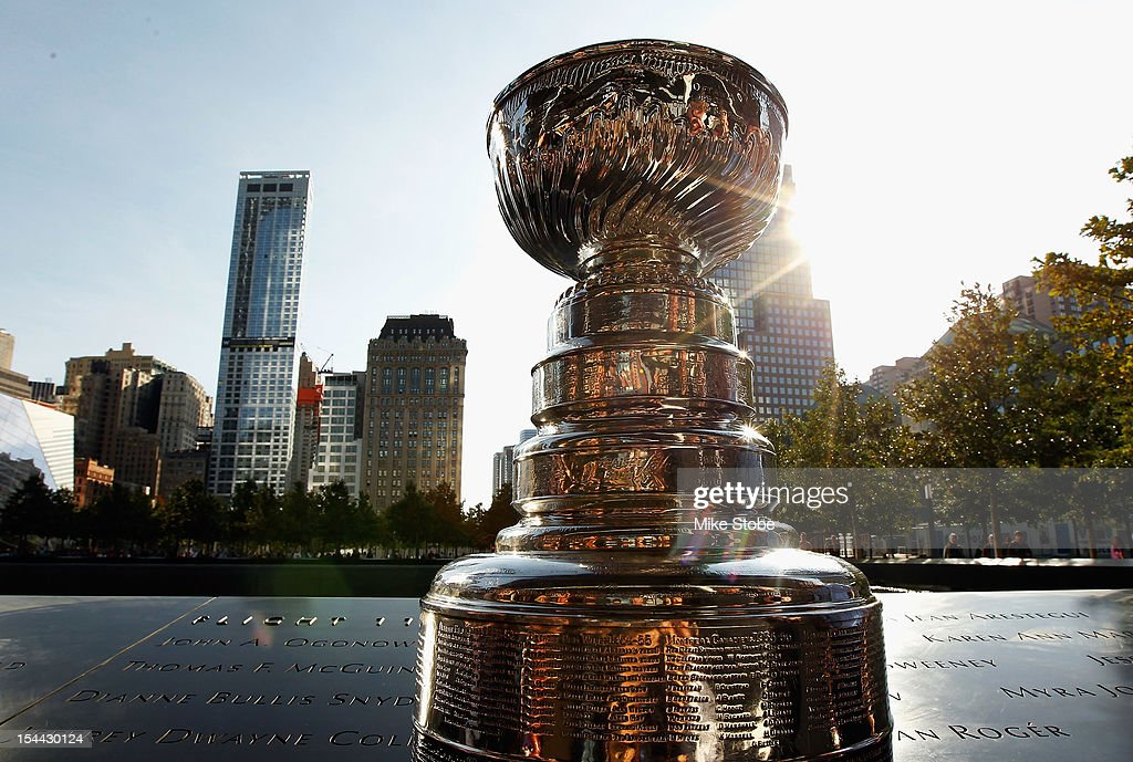 The Kings brought the Stanley Cup to Ground Zero in New York in conjunction with the National Hockey League, the Hockey Hall of Fame and the New York Police Department to pay tribute to former club scouts Garnet 'Ace' Bailey and Mark Bavis.