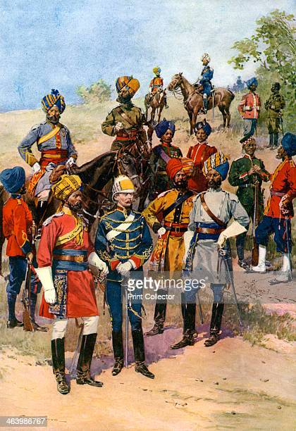 The King's 'Own' Regiments of the Indian Army Representatives of which come to England for the Coronation