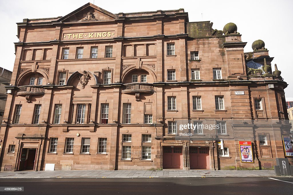 The King's Theatre, Glasgow : Stock Photo