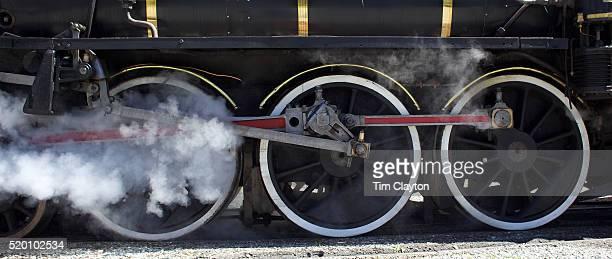 The Kingston Flyer steam train