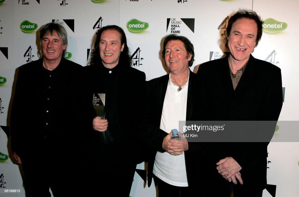 UK Music Hall of Fame 2005 - Backstage : News Photo