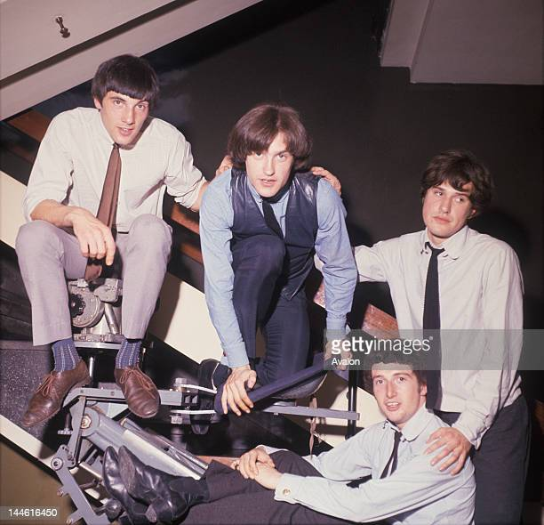 The Kinks in August 1964
