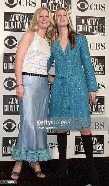 The Kinleys Jennifer and Heather were presenters at the 36th Annual Academy of Country Music Awards at the Universal Amphitheatre in Los Angeles Ca...