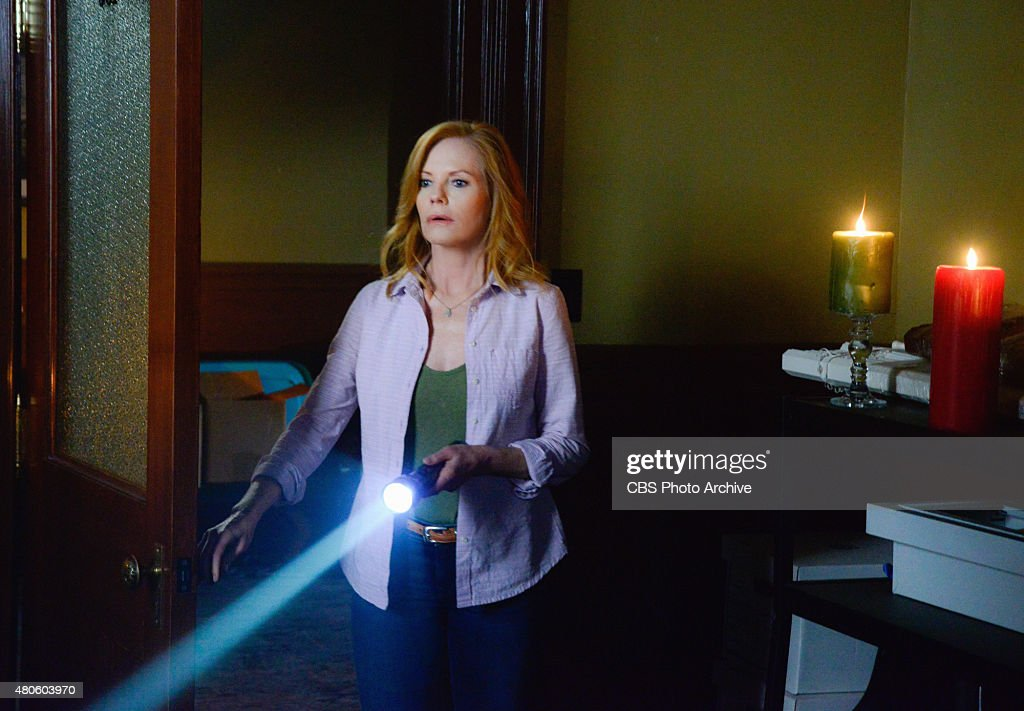 'The Kinship' -- Under the guise of helping Chester's Mill rebuild, Christine (Marg Helgenberger) urges the townspeople towards specific individuals and projects that remind them of their experience in the tunnels. Also, Julia and Big Jim make shocking discoveries that reveal a new threat within the Dome, on UNDER THE DOME, Thursday, July 9 (10:00-11:00 PM, ET/PT), on the CBS Television Network. Pictured Marg Helgenberger as Christine Price