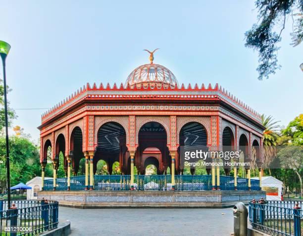 The Kiosco Morisco (Moorish Kiosk) - Mexico City, Mexico