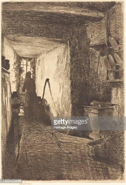 The Kitchen, 1858. Artist James Abbott McNeill Whistler.