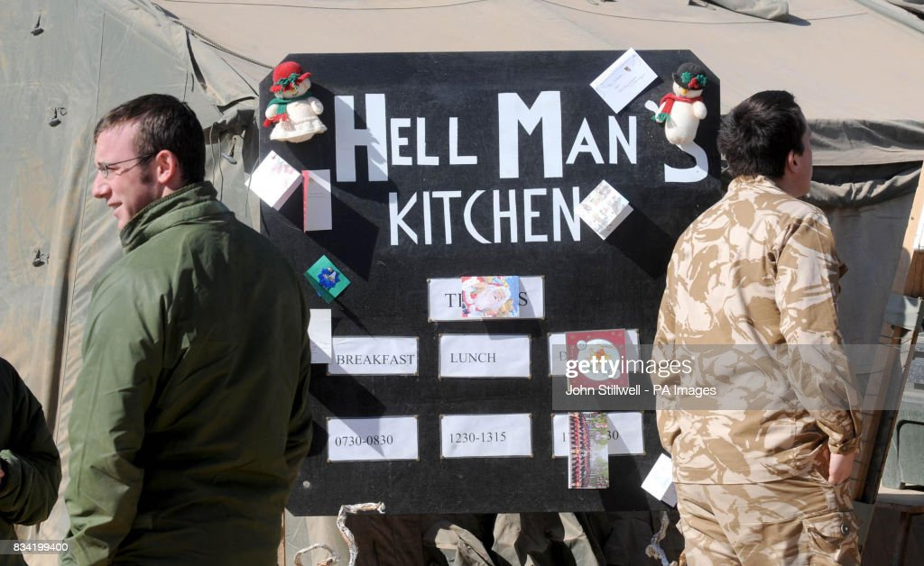 The Kitchen At FOB (forward Operating Base) Dwyer, In Afghanistanu0027s Helmand  Province.