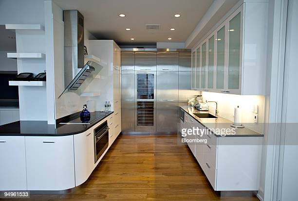 The kitchen inside the apartment of Marc Dreier, founder of the law firm Dreier LLP sentenced to 20 years in prison for defrauding hedge funds, on...