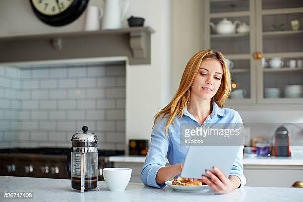 Die Küche ist ihr Lieblingsmaterial Ort, um zu entspannen