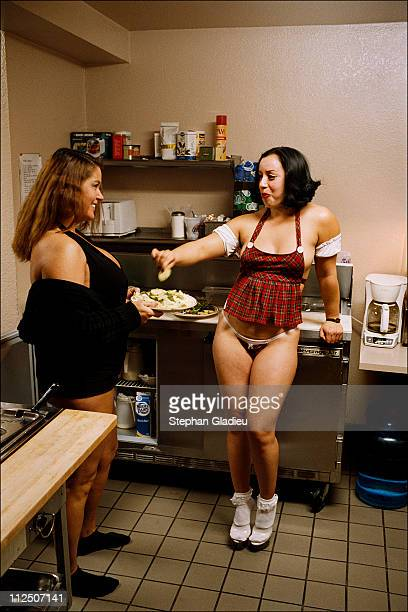 The kitchen is the only non-smoking room in the house, where girls are allowed to eat at anytime of the day and food is always available, because of...