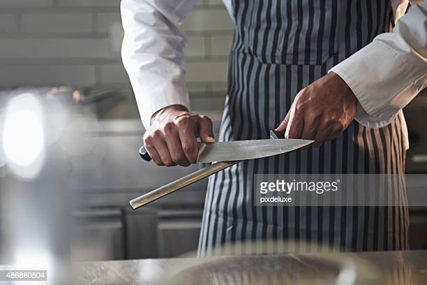 The kitchen knife it's the soul of it's cook