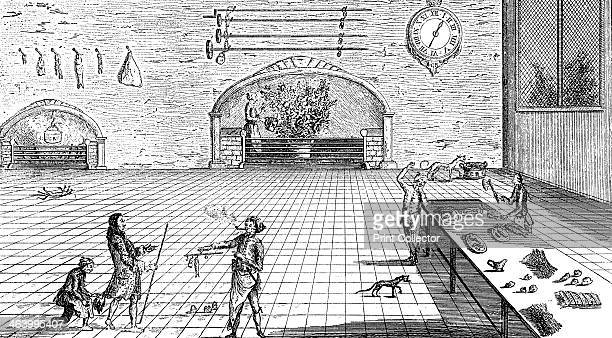 'The Kitchen Metamorphosed' 1762 Illustration from Social Caricature in the Eighteenth Century With over two hundred illustrations by George Paston...